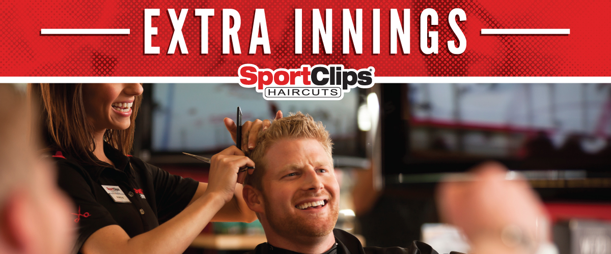 The Sport Clips Haircuts of Myrtle Beach Extra Innings Offerings